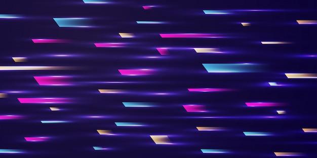 Snelheid beweging ontwerp achtergrond concept.