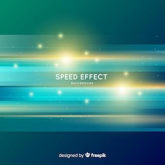 Snelheid effect achtergrond