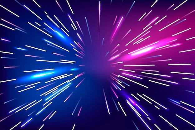 Snelheid lichten achtergrond