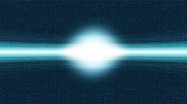 Snelheidslampje op circuit-microchip