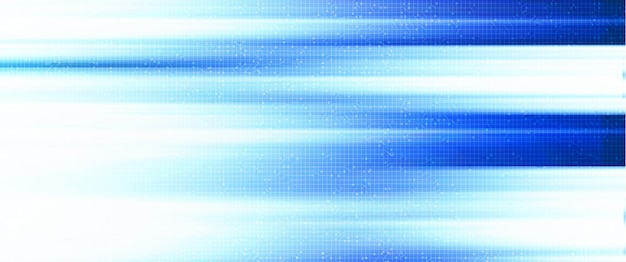 Snelheidslicht op technologieachtergrond