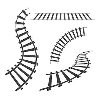 Snelle trein pictogram vector illustratie ontwerpsjabloon