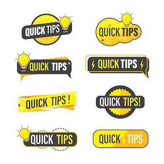 Snelle verzameling van tips