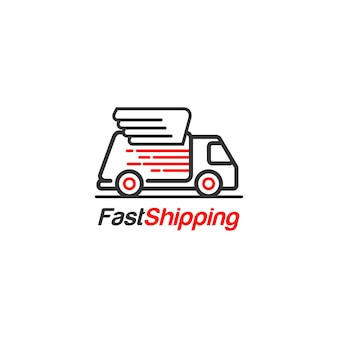 Snelle verzending logo
