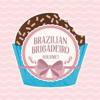 Snoep braziliaanse brigadeiro