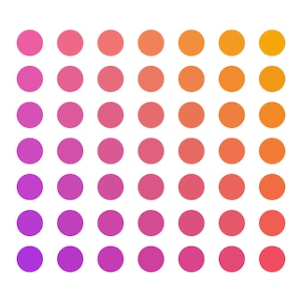 Snoep vector kleurenpalet