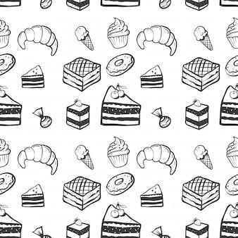 Snoepjes naadloze patroon