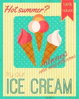 Snoepjes retro poster
