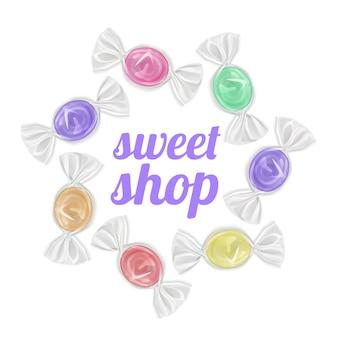 Snoepjes snoepwinkel