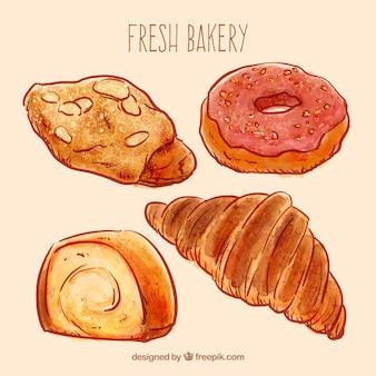 Snoepjes van bakkerijproducten
