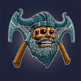 Snor viking schedel