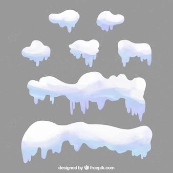 Snow cap-collectie