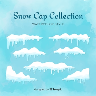 Snow cap-collectie