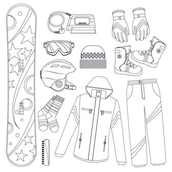 Snowboard. extreme wintersport.