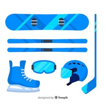 Snowboard uitrusting collectie