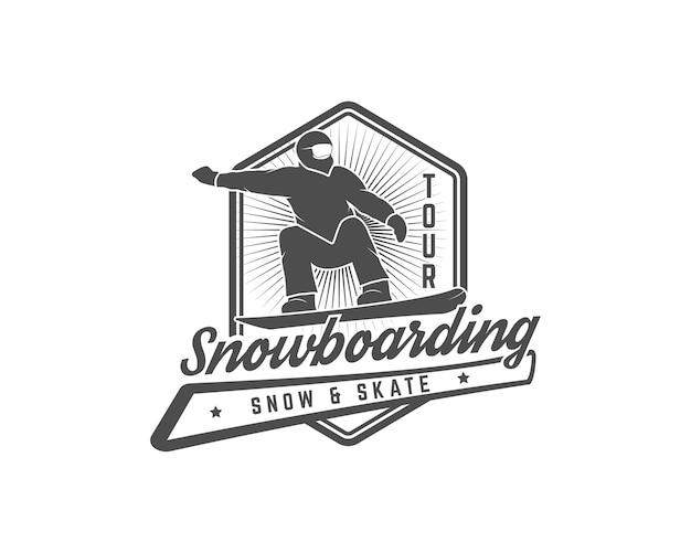Snowboarden logo