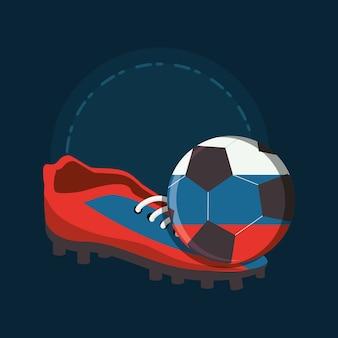 Soccer world cup rusland ontwerp