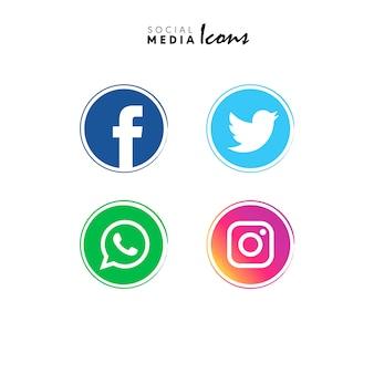 Social media iconen