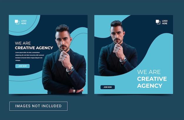 Social media instagram postsjabloon banner flyer promotie digitaal creatief marketingbureau