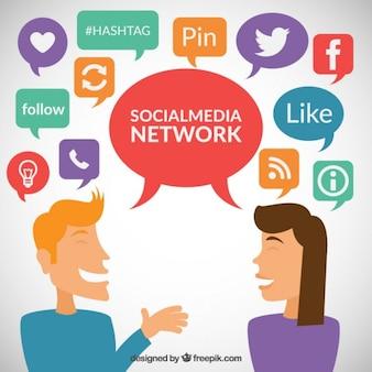 Social media netwerk