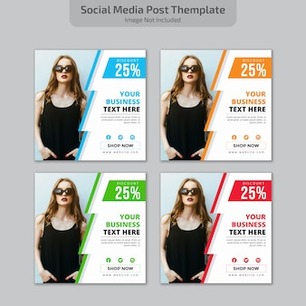 Social media postontwerp