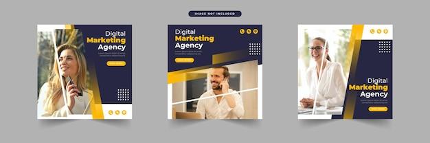 Social media posts van digitaal marketingbureau