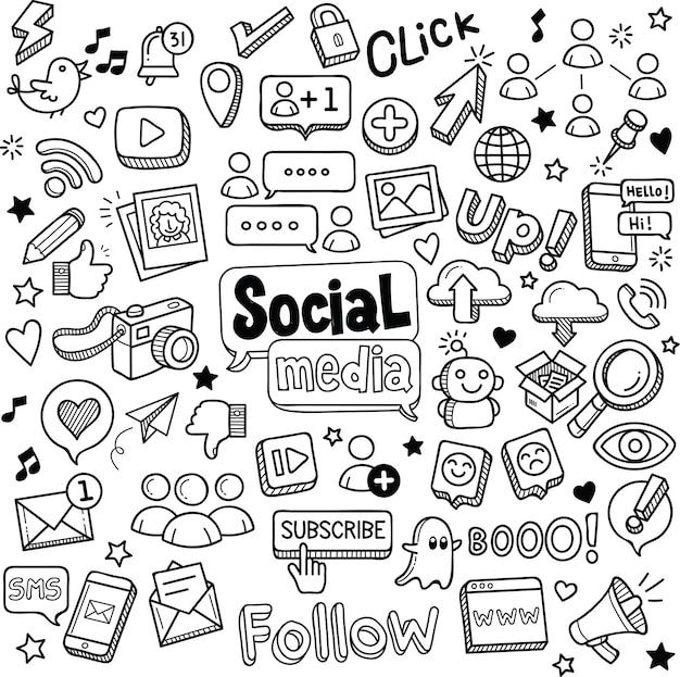 Sociale doodles