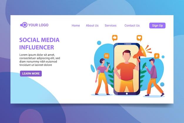 Sociale media-beïnvloeder
