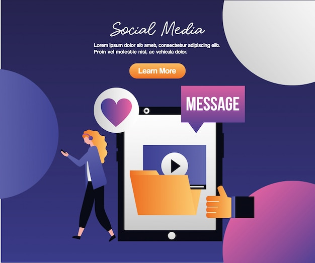 Sociale media digitaal