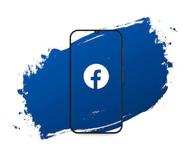 Sociale media facebook-plons