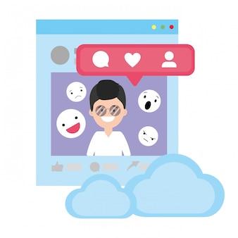 Sociale netwerktechnologie