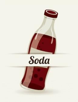 Soda eenvoudig element