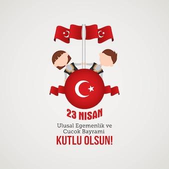 Soevereiniteit en kinderdag in turkije