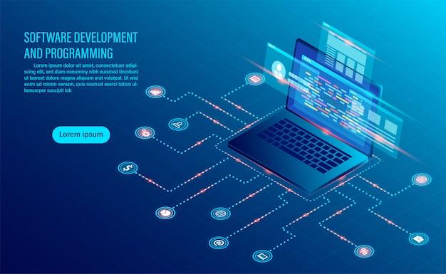 Softwareontwikkeling codering en bedrijfsanalyse