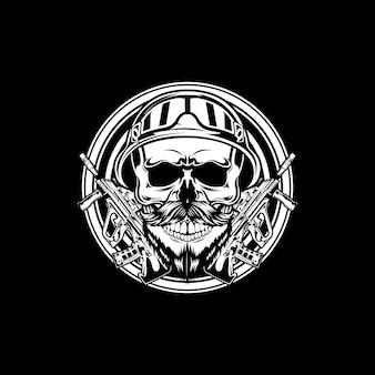 Soldaat schedel