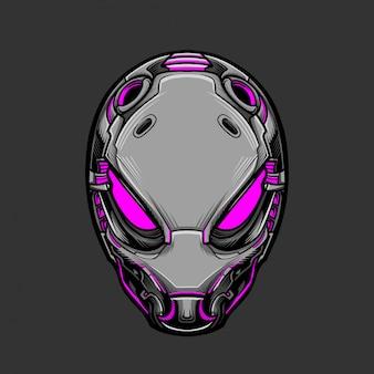 Soldaatmasker 10 vectorillustratie