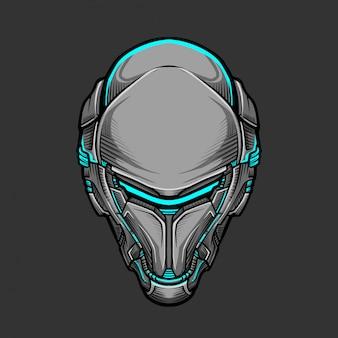 Soldaatmasker 7 vectorillustratie