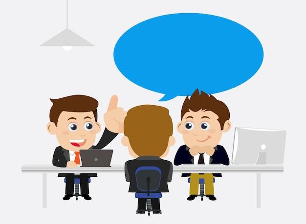 Sollicitatiegesprek concept