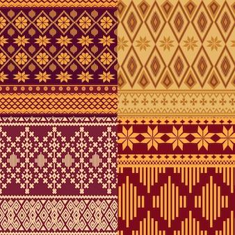Songket patrooncollectie