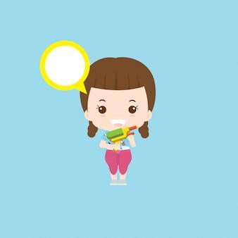 Songkran meisje