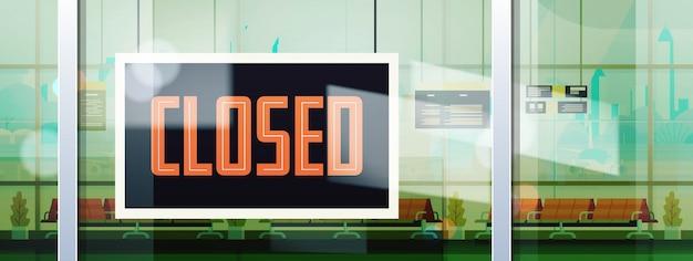 Sorry we zijn gesloten teken opknoping buiten bedrijf kantoor winkel winkel of restaurant