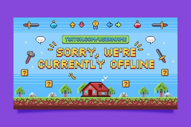 Sorry, we zijn offline achtergrond