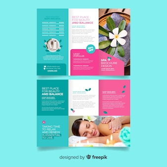 Spa driebladige brochure