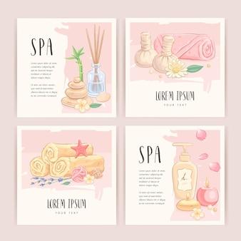 Spa kaarten set