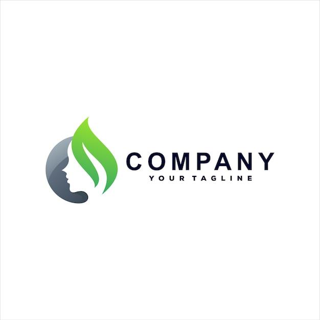 Spa kleurverloop logo ontwerp