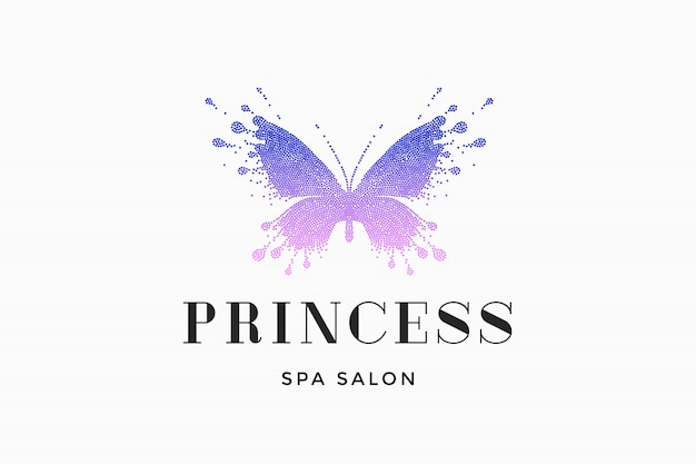 Spa logo salon princess