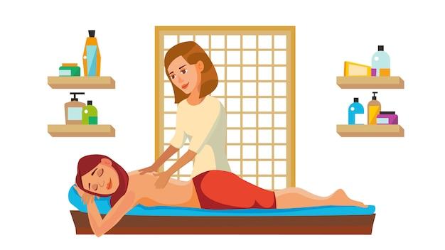 Spa massage wellness salon