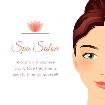Spa salon-poster