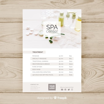 Spa sjabloon folder