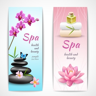 Spa verticale banners